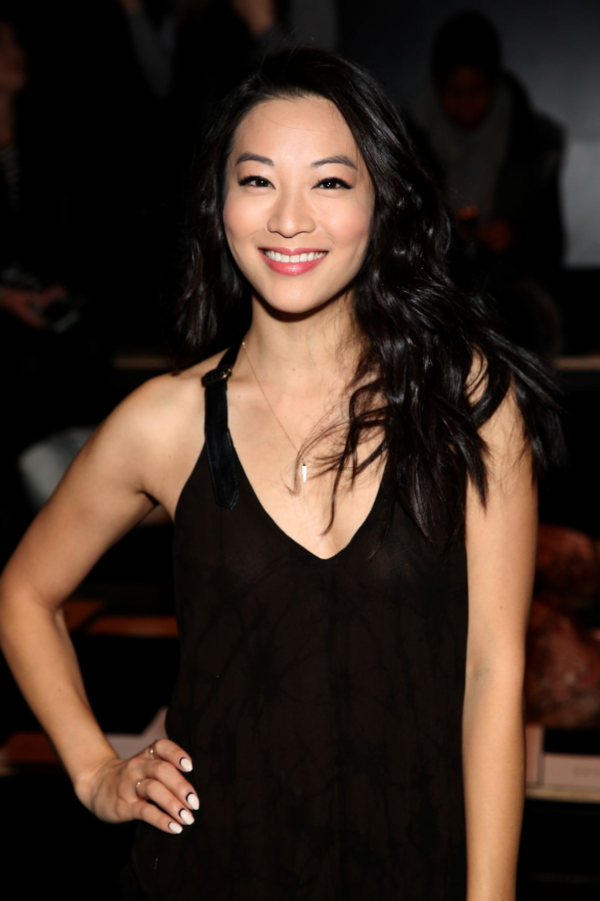ARDEN CHO at Nicholas K Fashion Show at New York Fashion Week 02/11/2016