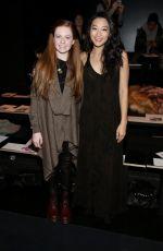 ARDEN CHO at Nicholas K Fashion Show at New York Fashion Week 02/11/2016