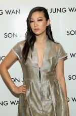 ARDEN CHO at Son Jung Wan Fashion Show in New York 02/13/2016
