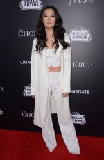 ARDEN CHO at The Choice Premiere in Hollywood 02/01/2016
