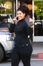 ASA SOLTAN RAHMATI Out and About in Glendale 02/03/2016