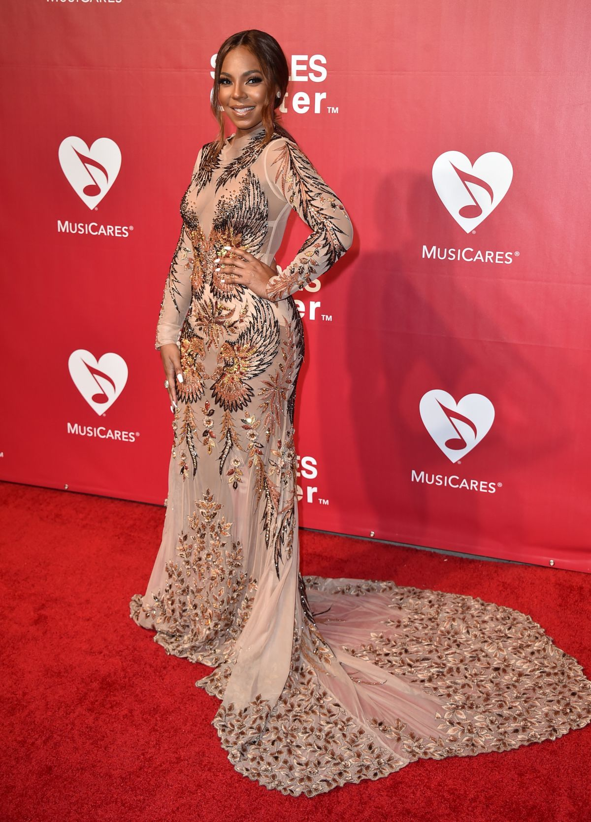 ASHANTI at 2016 Musicares Person of the Year Honoring Lionel Richie in Los Angeles 02/13/2016