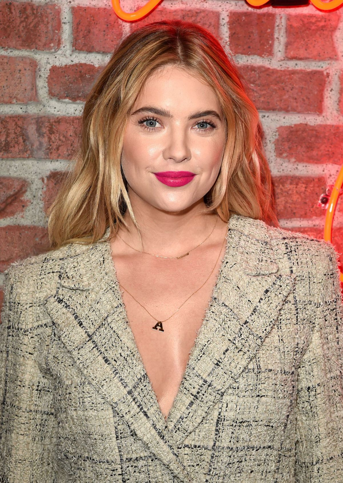 ASHLEY BENSON at I Love Coco Backstage Beauty Lounge in Los Angeles 02/25/2016