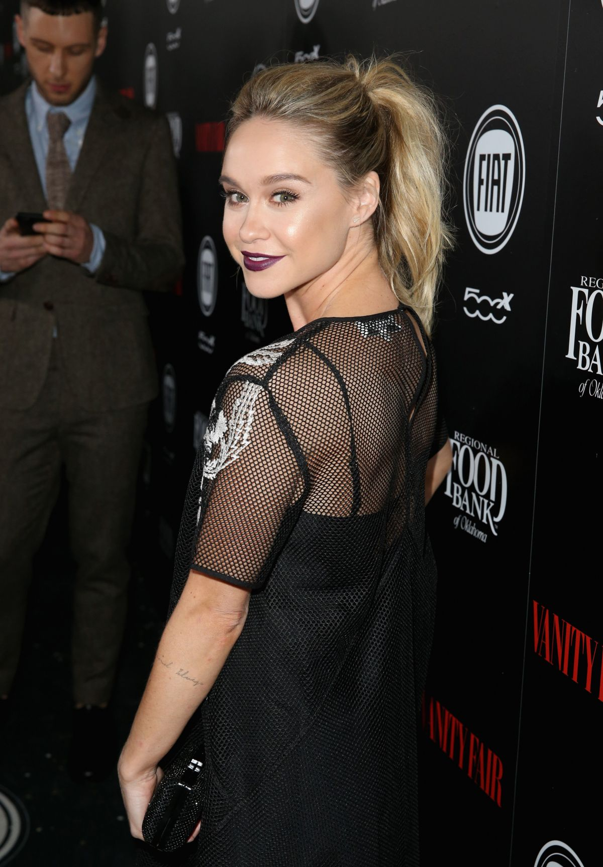 BECCA TOBIN at Vanity Fair and Fiat Young Hollywood Celebration in Los Angeles 02/23/2016