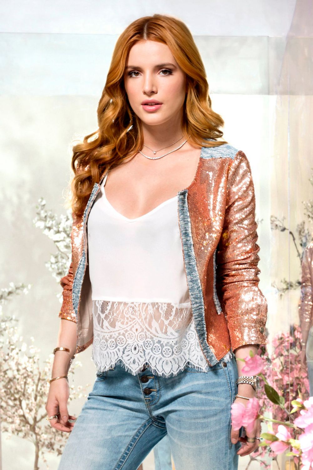 BELLA THORNE fo Miss Me Spring/Summer 2016 Campaign