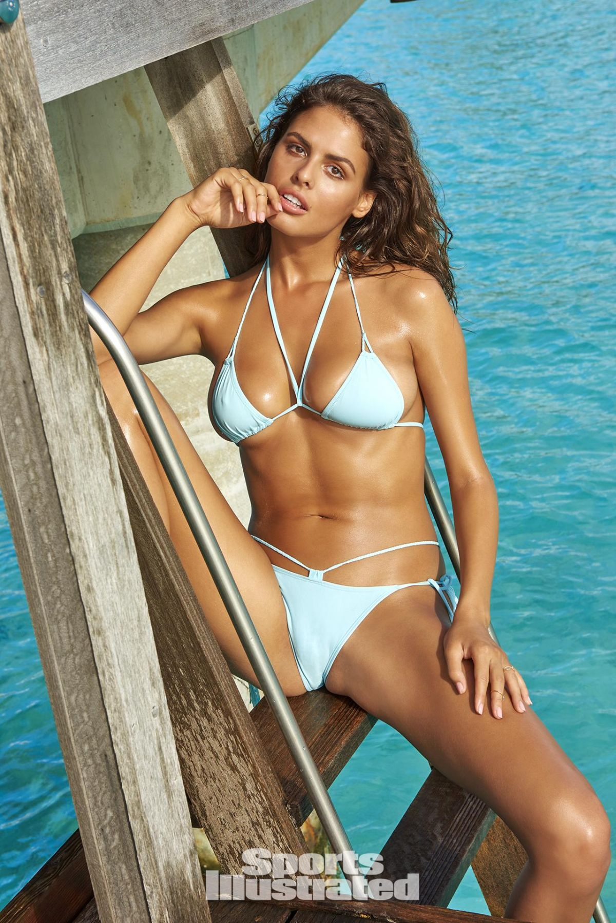 BO KRSMANOVIC in Sports Illustrated Swimsuit Issue 2016