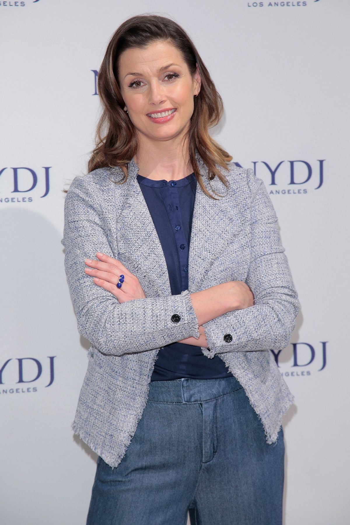 BRIDGET MOYNAHAN Debuts nydj 2016 Fit to be Campaign at Lord & Taylor Fifth Avenue 01/25/2016