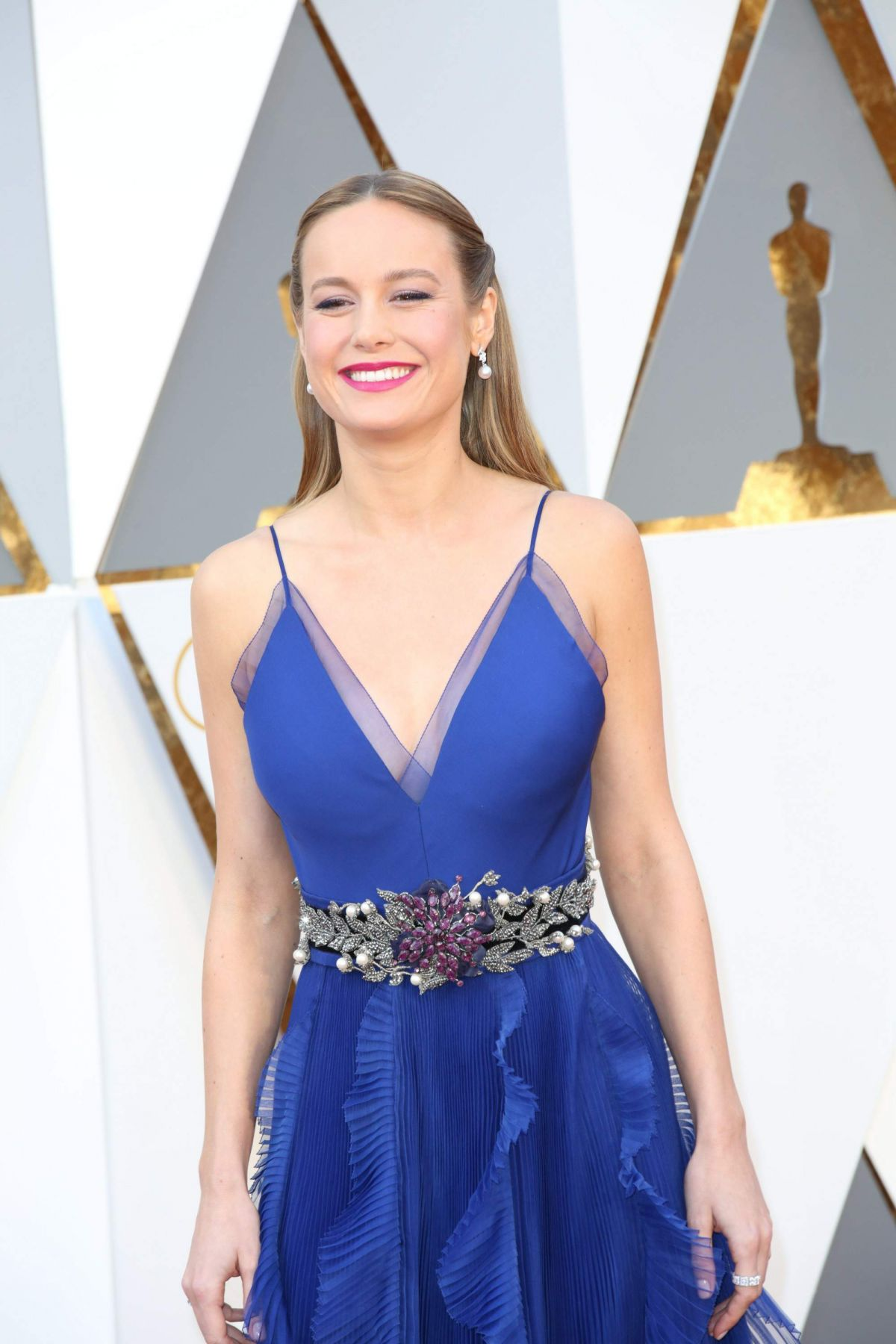 BRIE LARSON at 88th Annual Academy Awards in Hollywood 02/28/2016