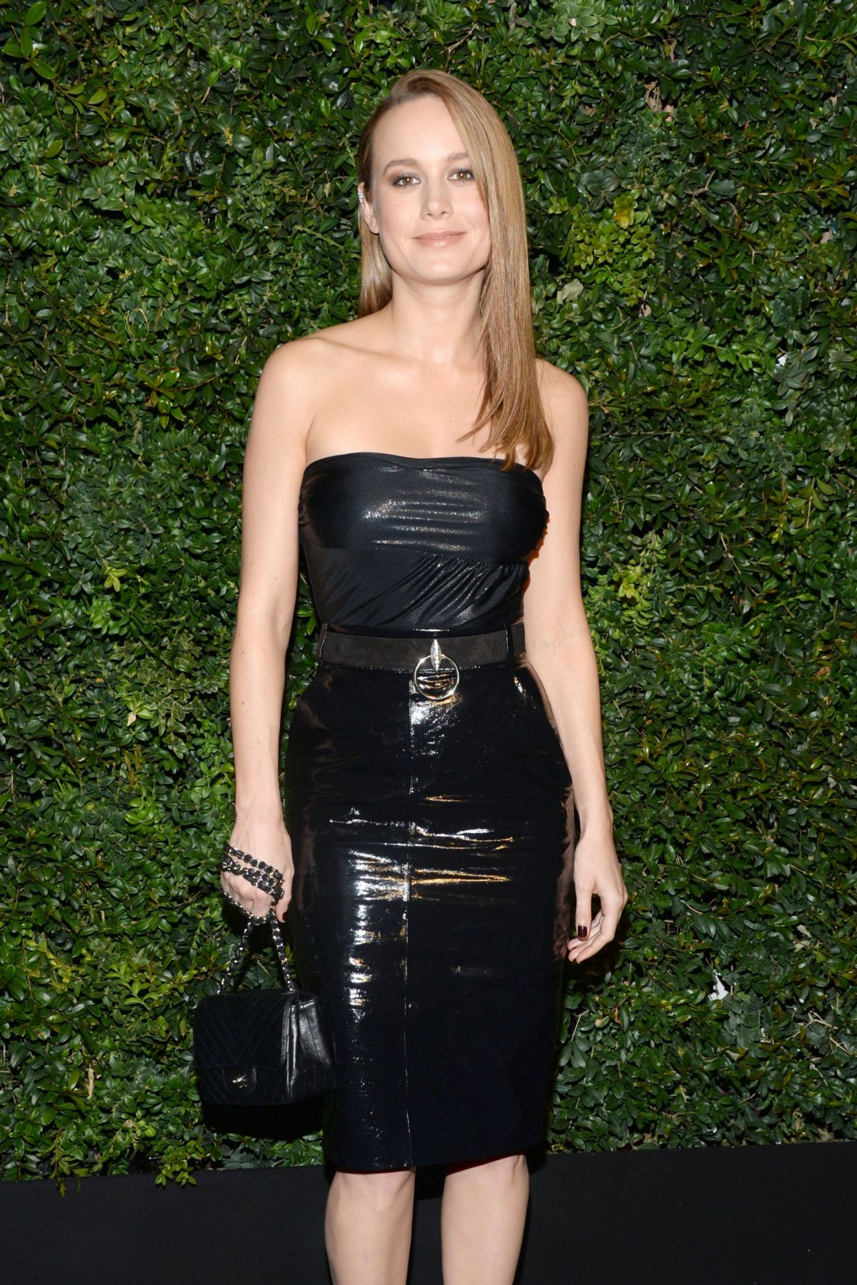 BRIE LARSON at Chanel and Charles Finch Pre-oscar Party in Los Angeles 02/27/2016