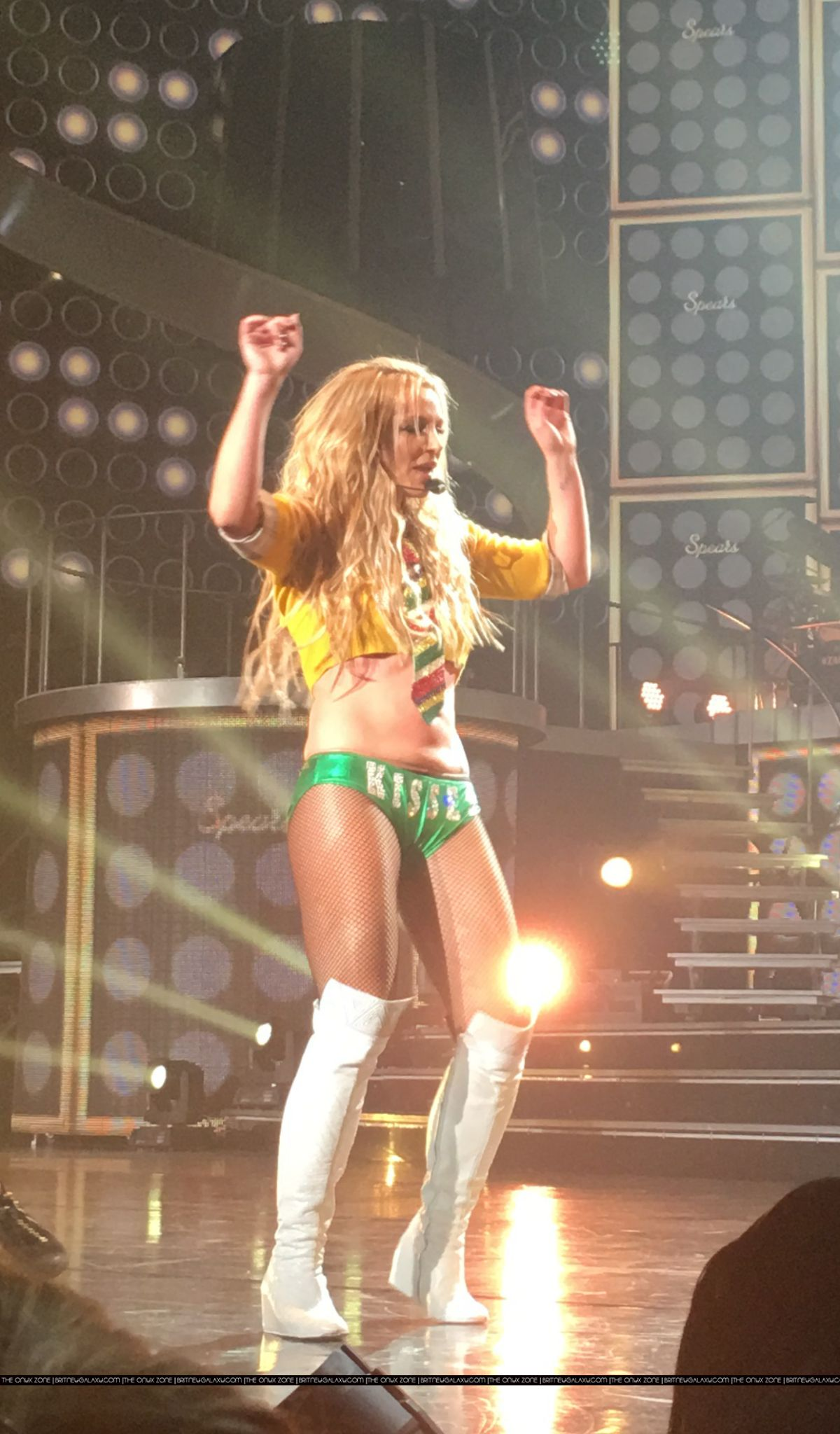 BRITNEY SPEARS Performs at Piece of Me Show in Las Vegas 02/13/2016 –  HawtCelebs