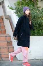 CARICE VAN HOUTEN Out and About in Los Angeles 02/17/2016