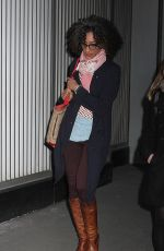 CARLA HALL Out and About in New York 02/02/2016