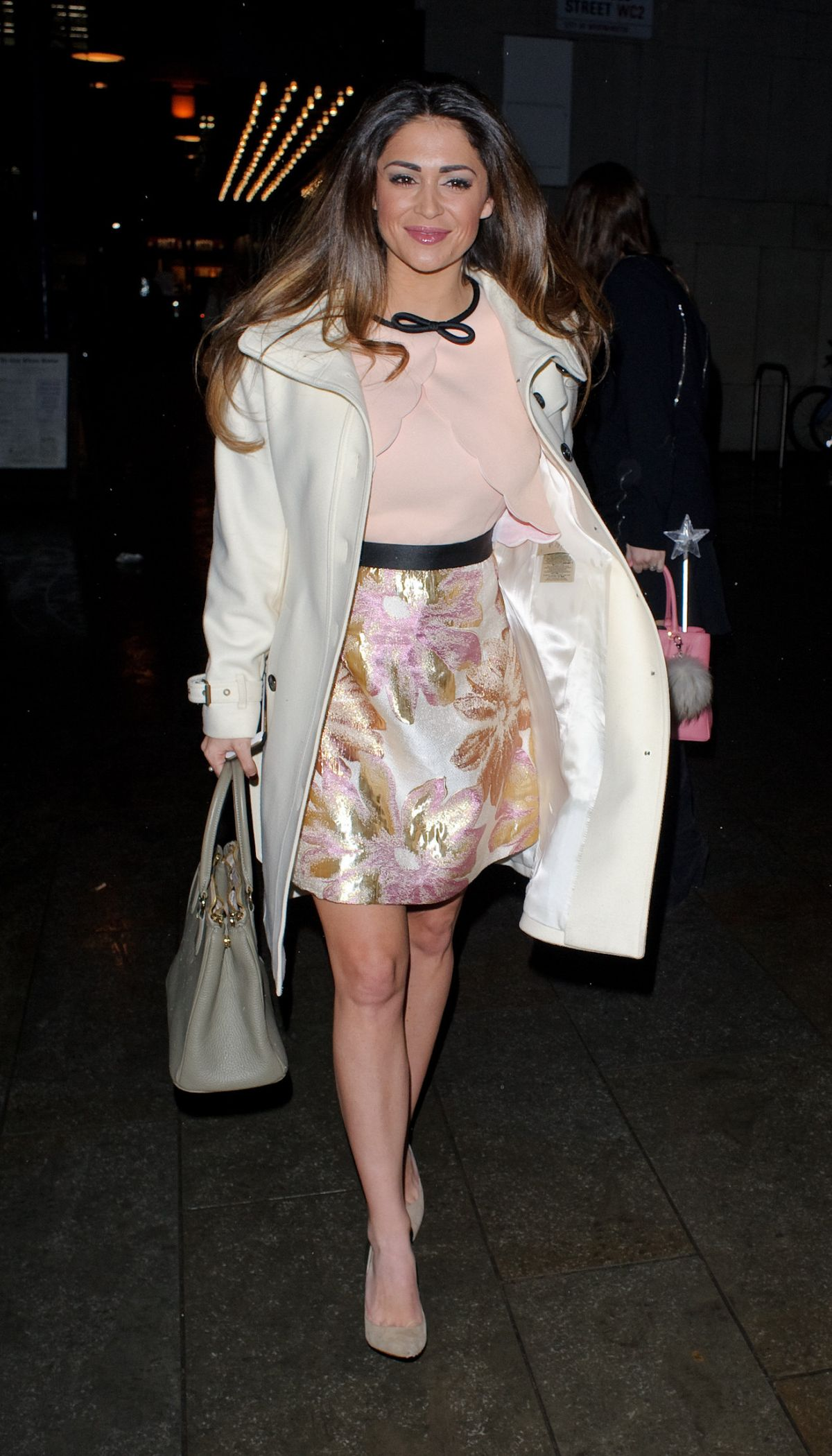 Casey Batchelor Leaves Peacock Theatre In London 02 09