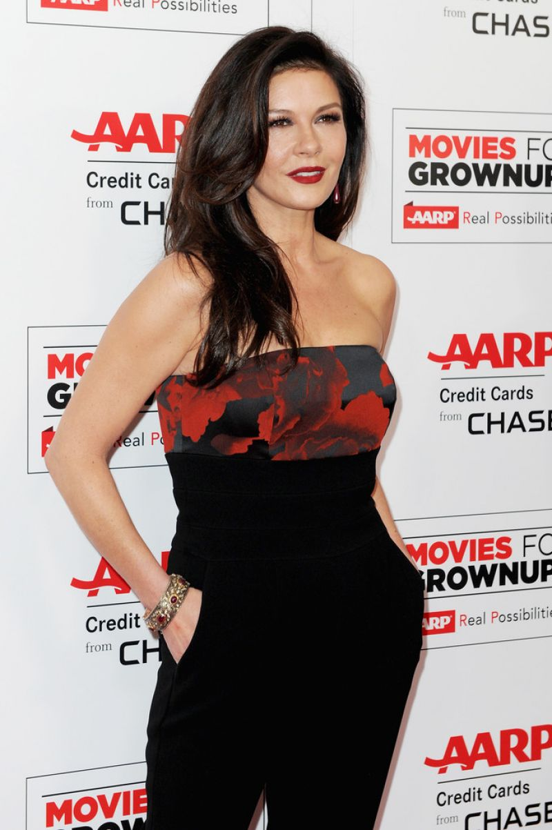 CATHERINE ZETA JONES at 15th Annual Movies for Grownups Awards in ...