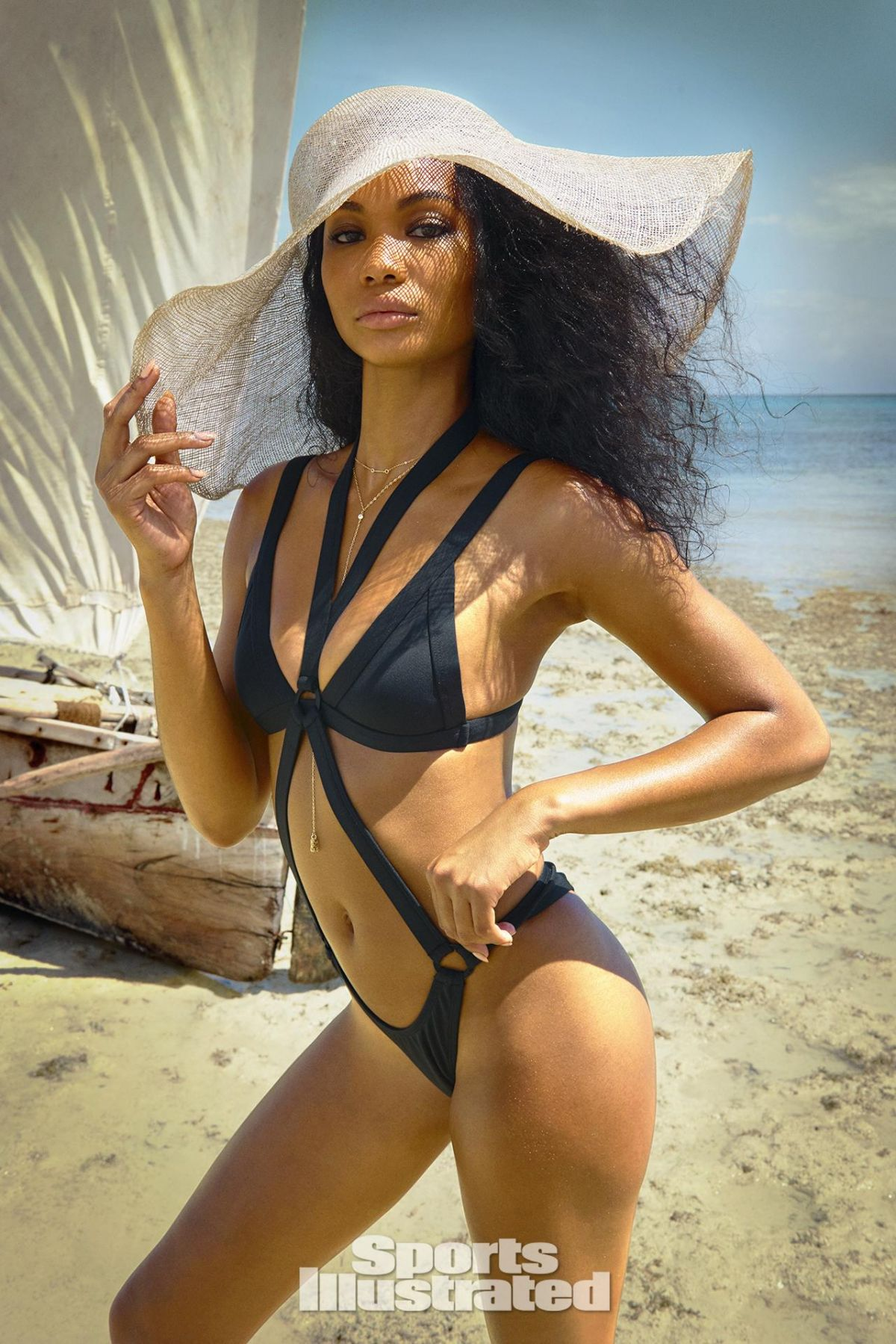 CHANEL IMAN in Sports Illustrated Swimsuit Issue 2016