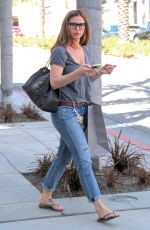 CHARISMA CARAPENTER Out Shopping in Beverly Hills 02/26/2016