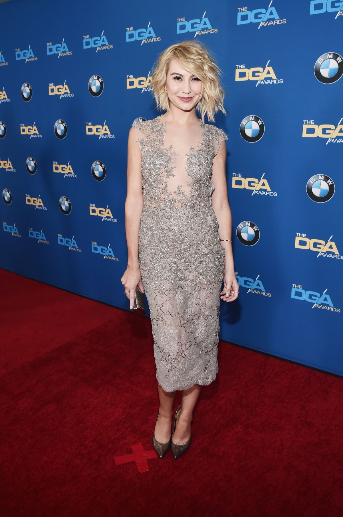 CHELSEA KANE at 68th Annual Directors Guild of America Awards in Los Angeles 02/06/2016