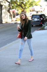 CHIARA FERRAGNI Out and About in West Hollywood 02/04/2016