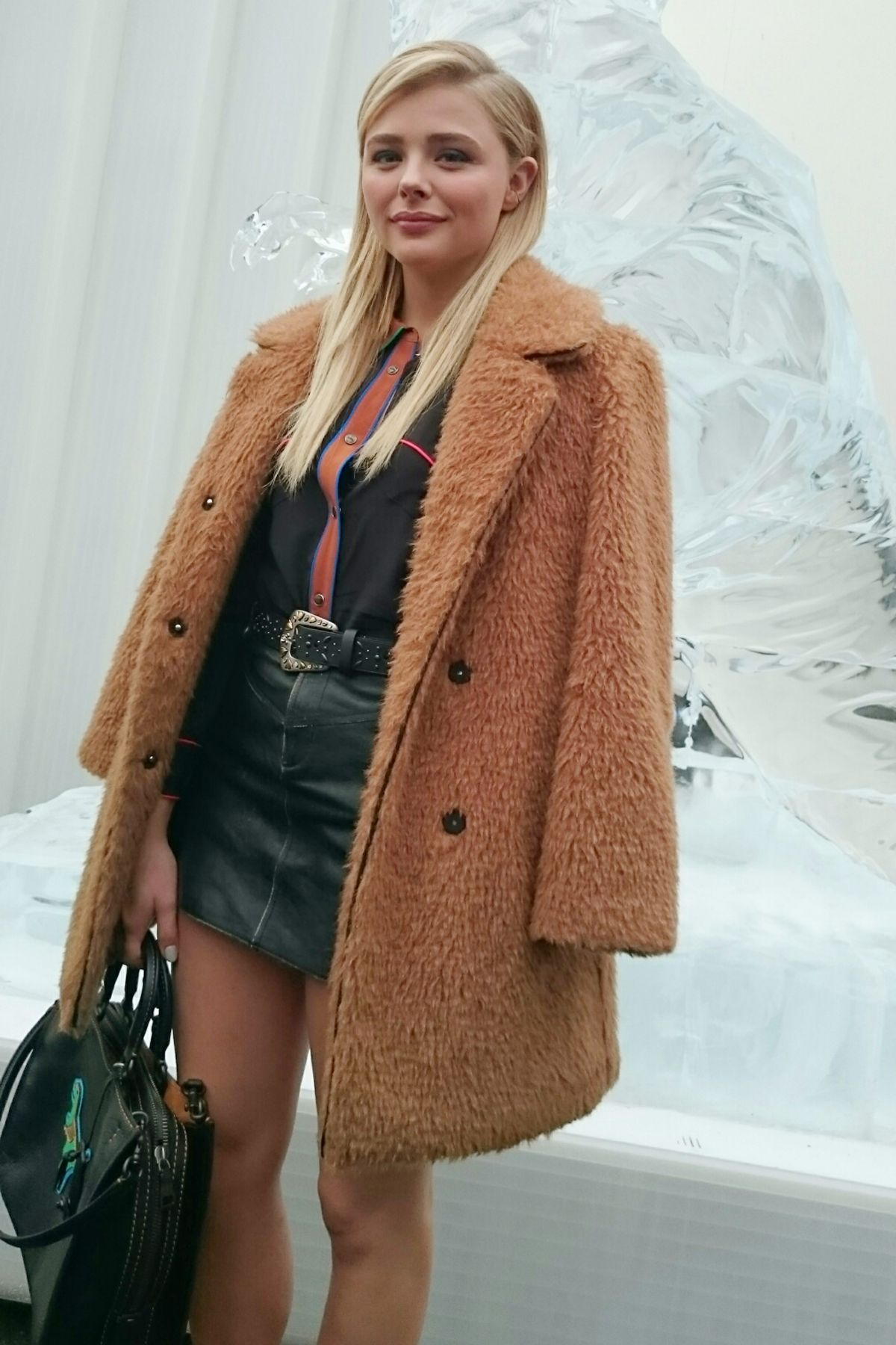 Style Double Shot: Chloë Moretz in NYC | Tom + Lorenzo