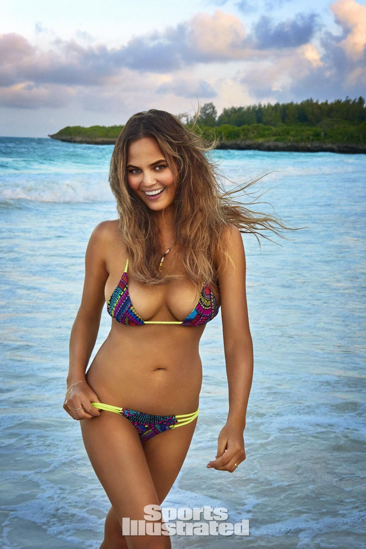 CHRISSY TEIGEN in Sports Illustrated Swimsuit Issue 2016