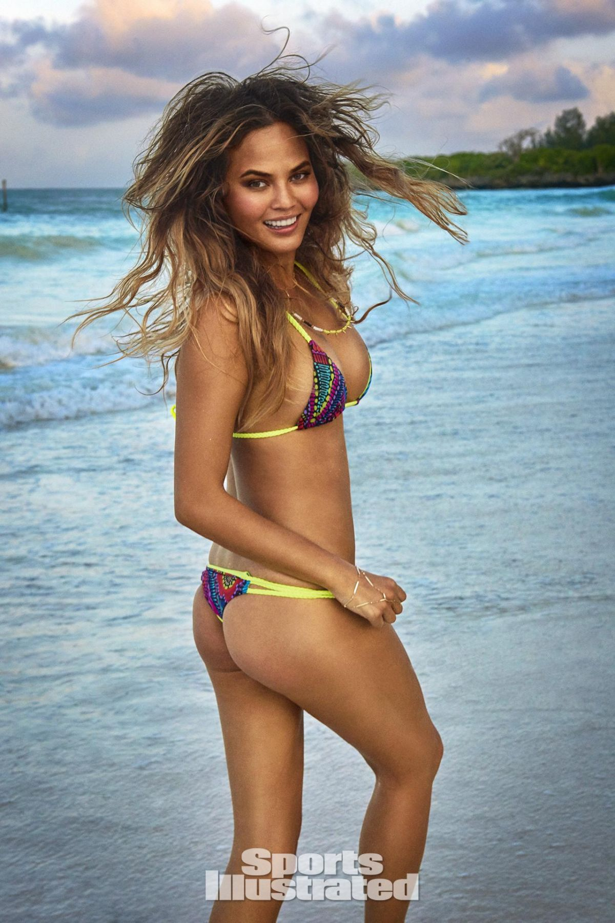 CHRISSY TEIGEN in Sports Illustrated Swimsuit Issue 2016 - HawtCelebs ...