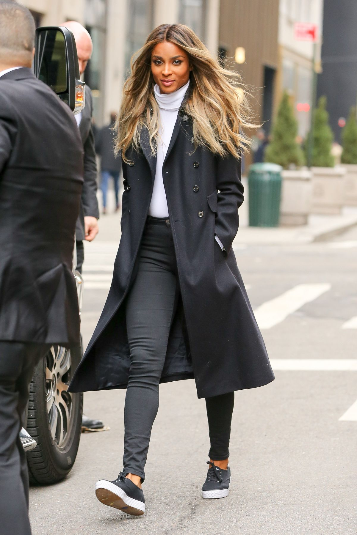 Ciara Leaves Polo Store In New York 02 11 2016 Hawtcelebs
