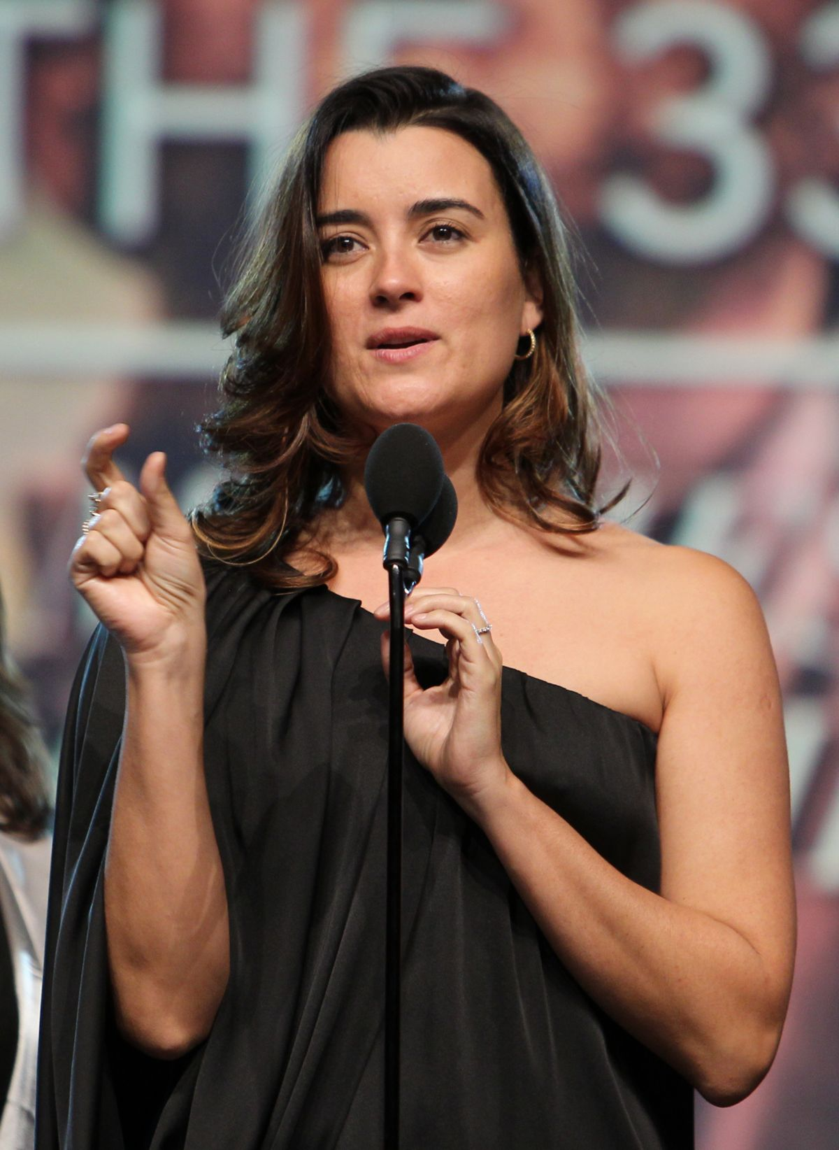 COTE DE PABLO at Movieguide Awards 2016 in Los Angeles 02 ...