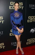 COURTNEY EATON at Gods of Egypt Premiere in New York 02/24/2016