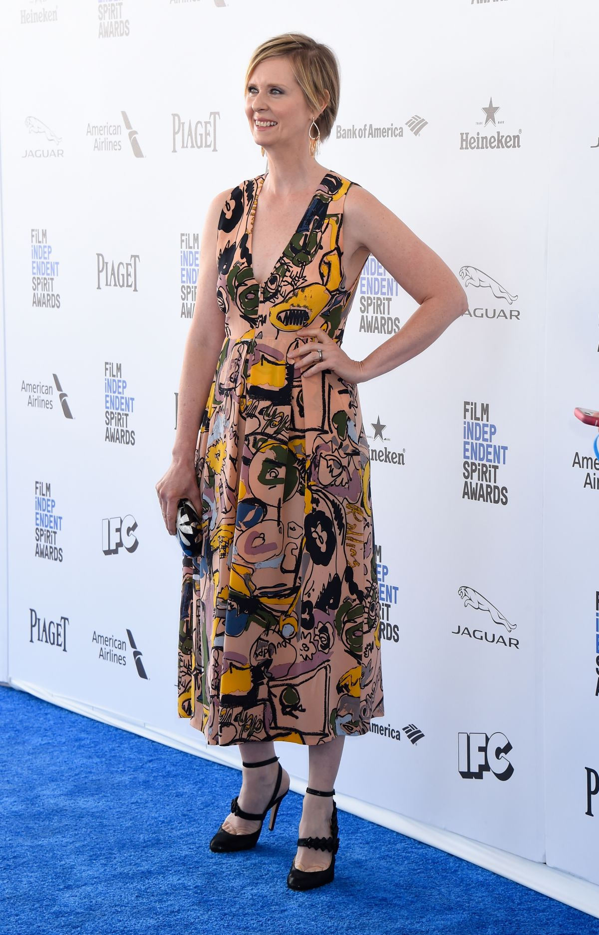 CYNTHIA NIXON at Film Independent Spirit Awards in Santa Monica 02/27/2016