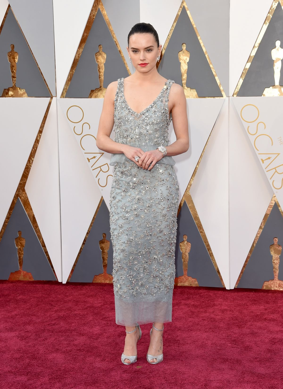 DAISY RIDLEY at 88th Annual Academy Awards in Hollywood 02/28/2016