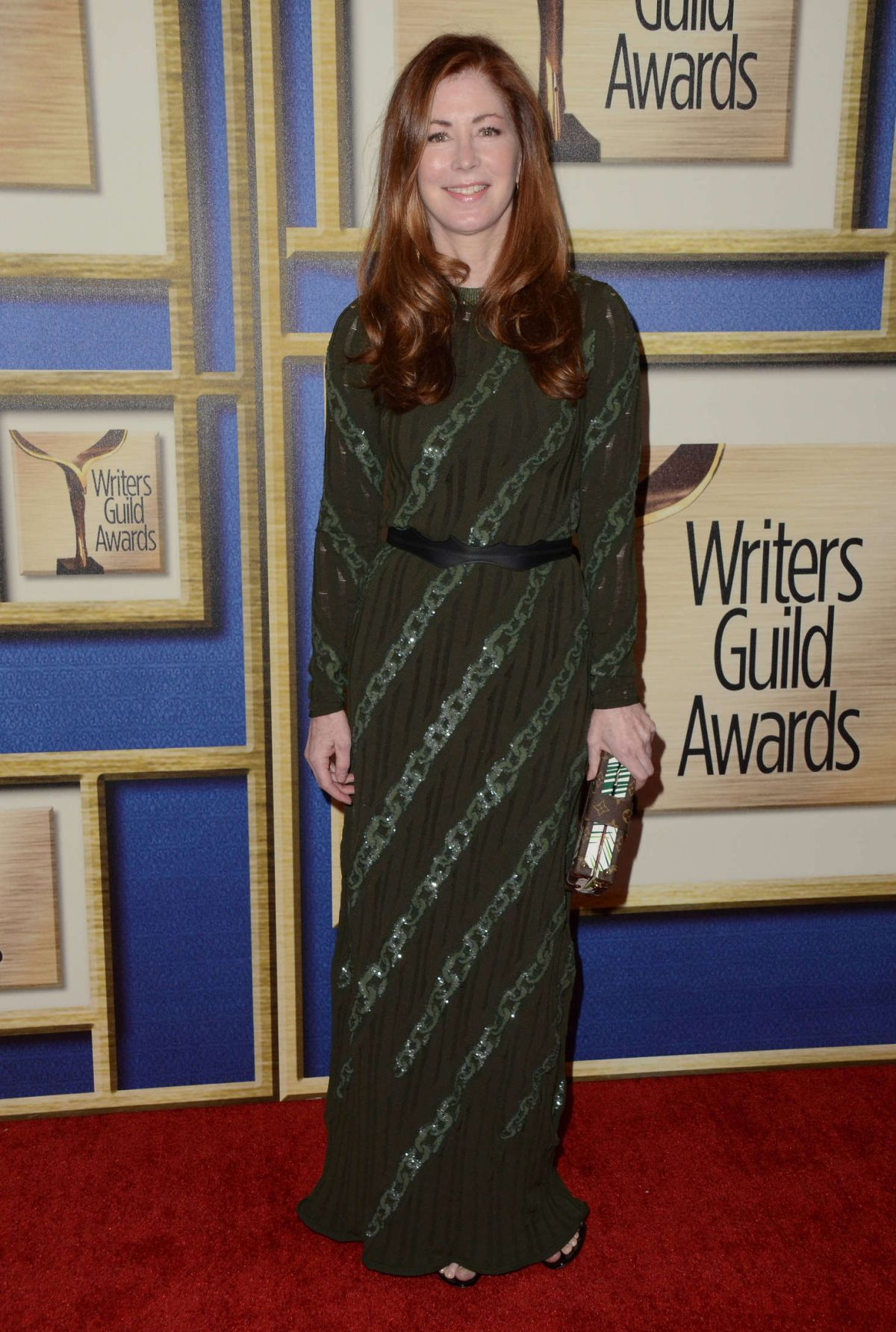 DANA DELANY at 68th Annual Writers Guild Awards in New York 02/13/2016