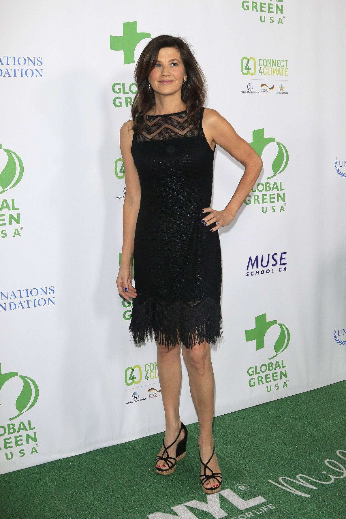 DAPHNE ZUNIGA at Global Green USA's 13th Annual Pre-oscar Party in Beverly Hills 02/24/2016