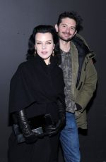 DEBI MAZAR at Marc Jacobs Fashion Show at New York Fashion Week 02/18/2016