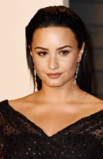 DEMI LOVATO at Vanity Fair Oscar 2016 Party in Beverly Hills 02/28/2016