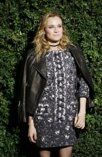 DIANE KRUGER at Chanel and Charles Finch Pre-oscar Party in Los Angeles 02/27/2016