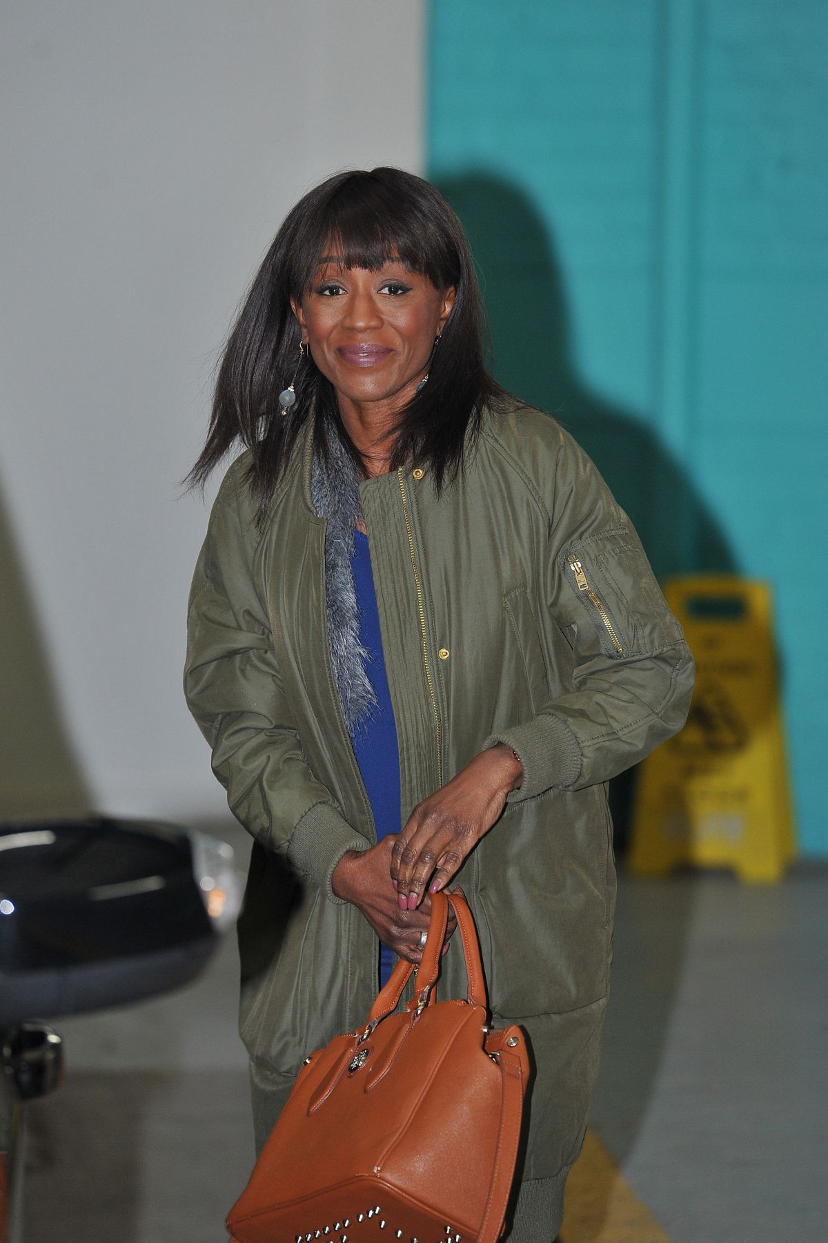 DIANE PARISH at IT Studios in London 02/12/2016
