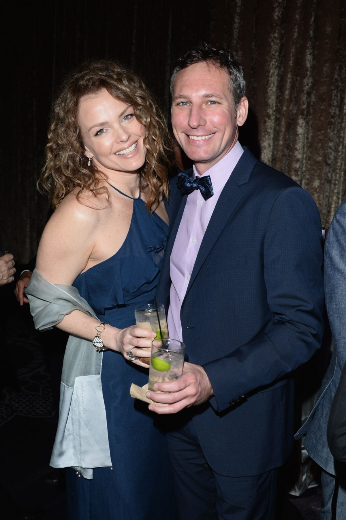 DINA MEYER at 18th Costume Designers Guild Awards Cocktail Reception in Beverly Hills 02/23/2016