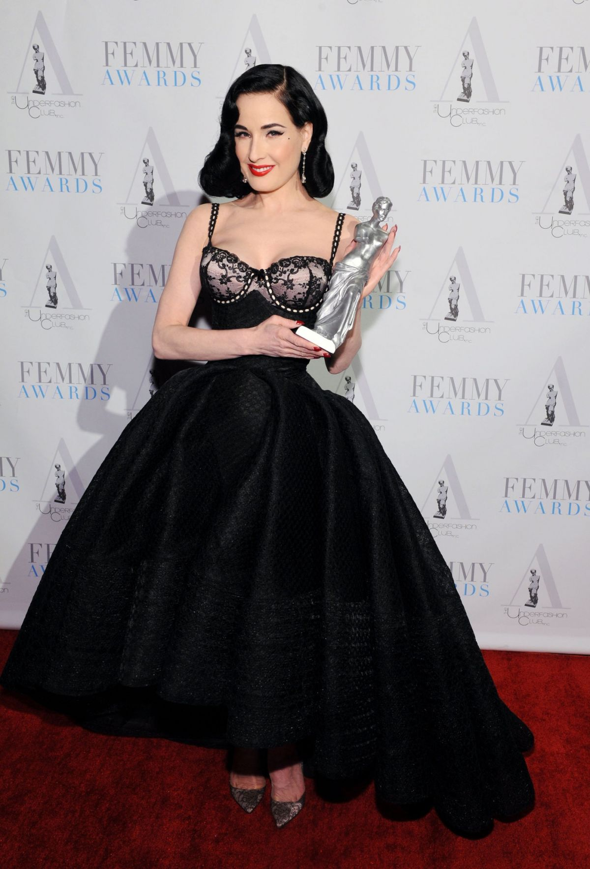 DITA VON TEESE at 2016 Femmy Awards 02/02/2016
