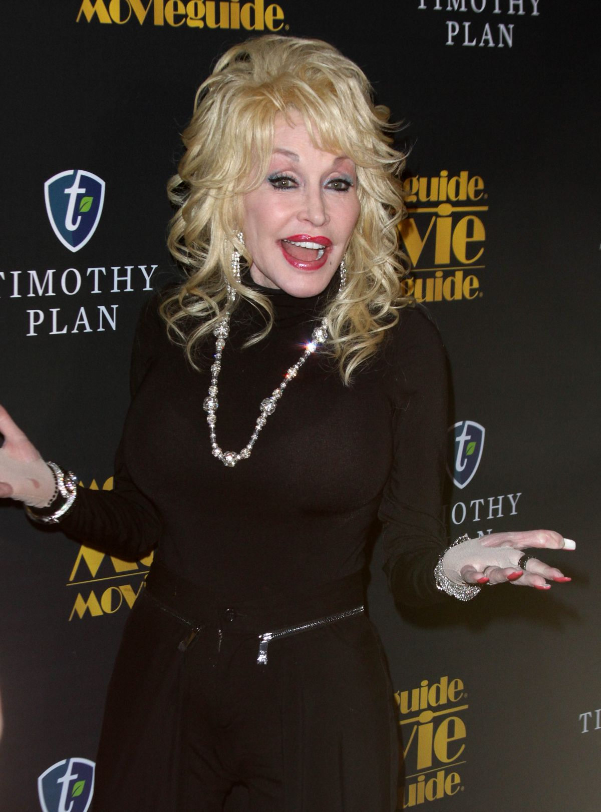 DOLLY PARTON at Movieguide Awards 2016 in Los Angeles 02/05/2016