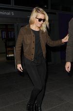 ELLIE GOULDING Arrives at Heathrow Airport in London 02/17/2016