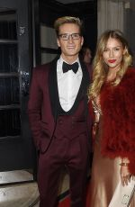 EMMA LOUISE at Roll Out the Red Ball in London 02/11/2016