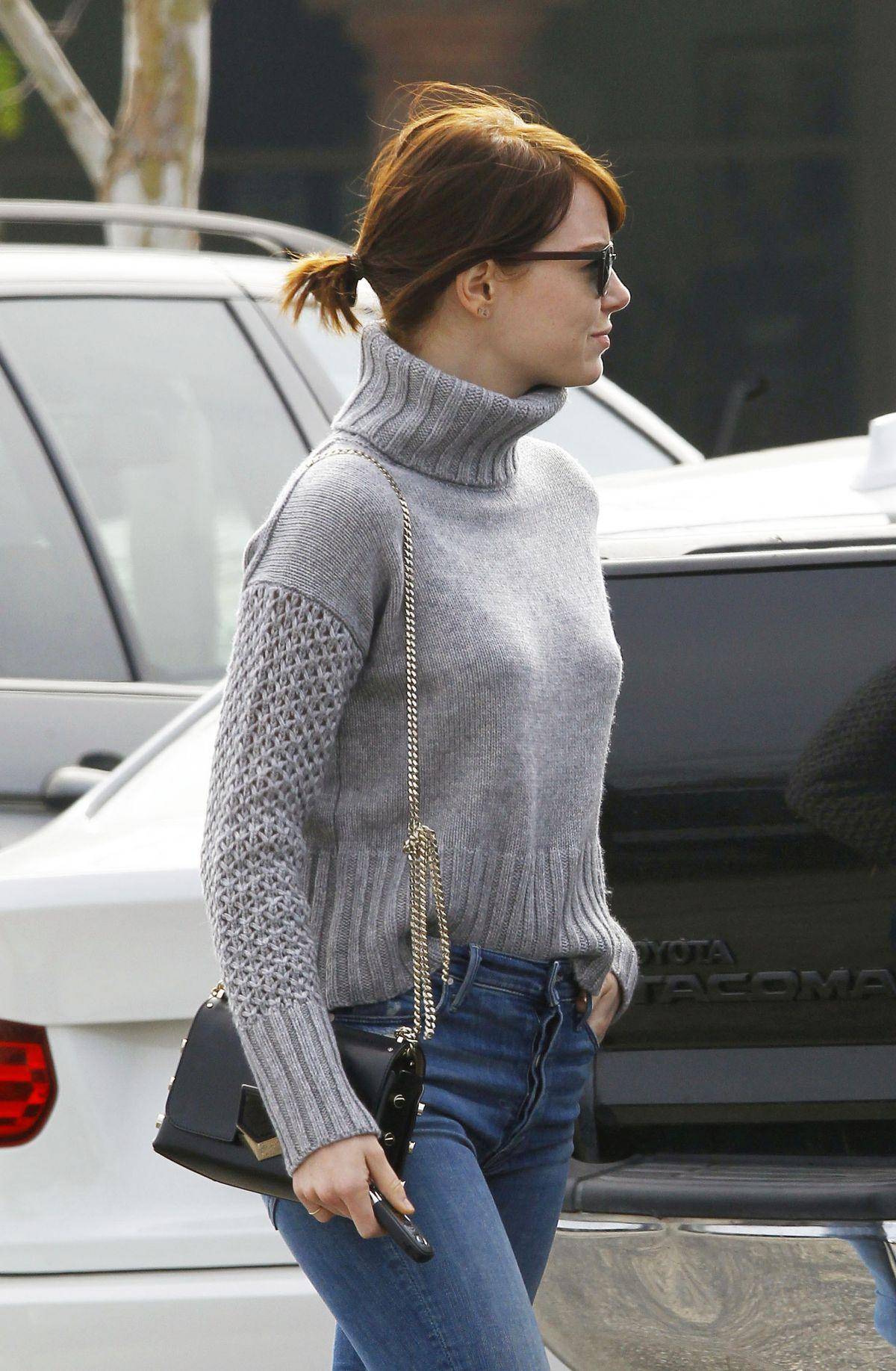 emma stone in jeans out in malibu 02142016 hawtcelebs