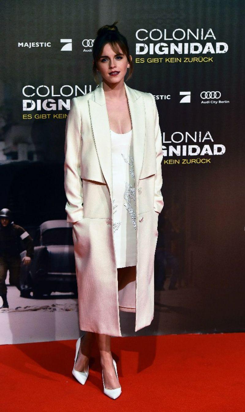 EMMA WATSON at Colonia Dignidad Premiere in Berlin 02/05/2016