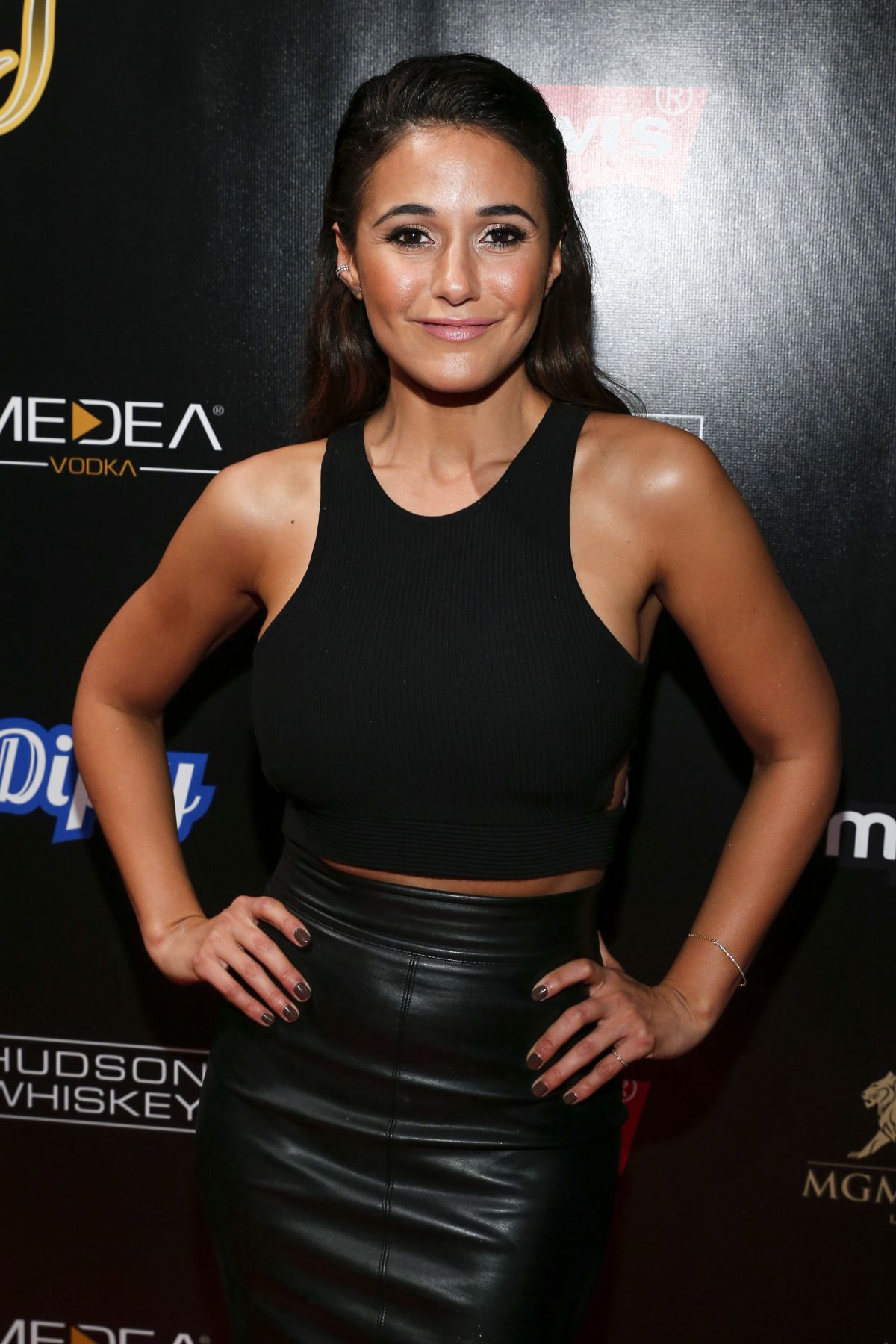 EMMANUELLE CHRIQUI at 13th Annual Leather & Laces Mega Party at Super ...