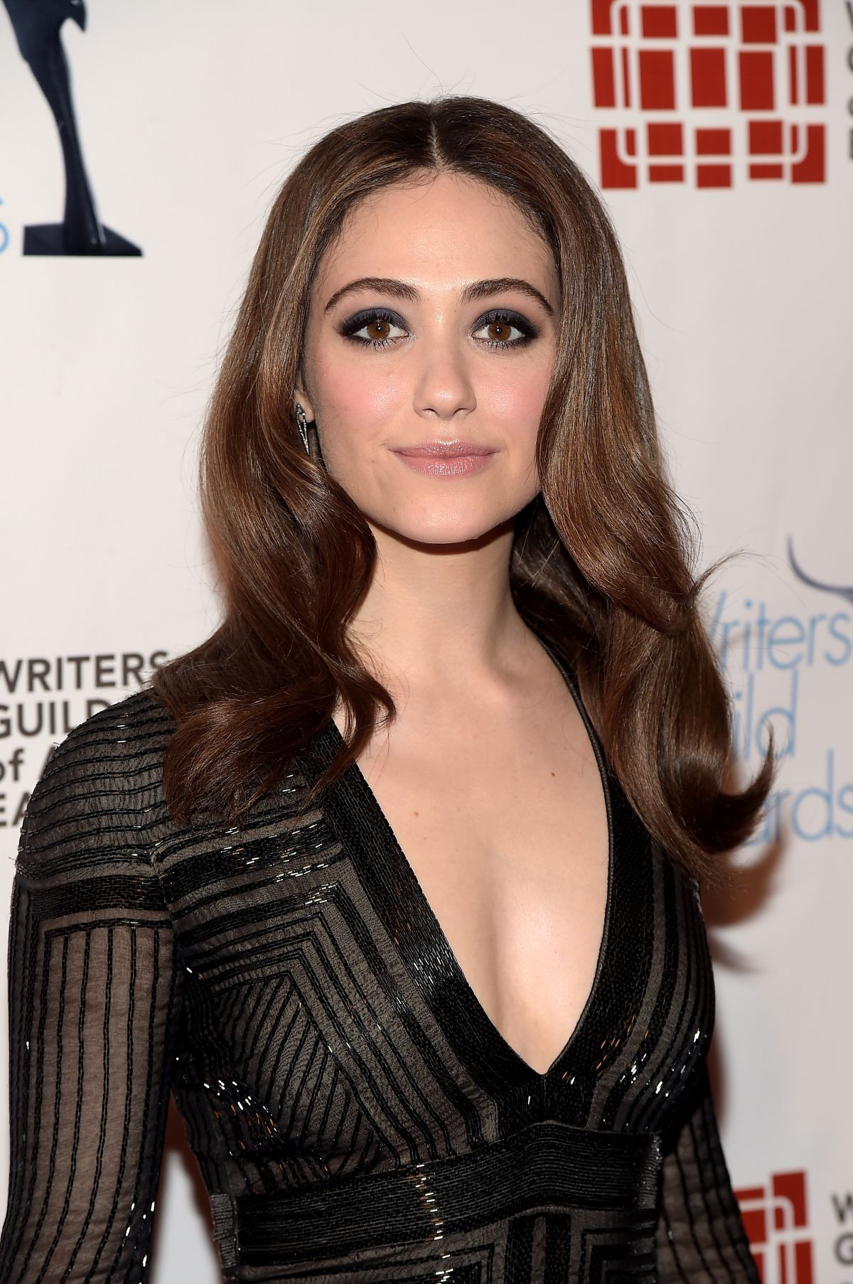 EMMY ROSSUM at 68th Annual Writers Guild Awards in New ... Emmy Rossum