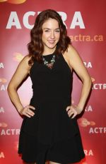 ERIN KARPLUK at 2016 actra National Award of Excellence Honoring Neve Campbell in Beverly Hills 01/31/2016