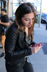 EVE HEWSON Out in Beverly Hills 02/08/2016