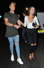 FRANCESCA TOOLE at Tuptup Palace Nightclub in Newcastle 02/11/2016