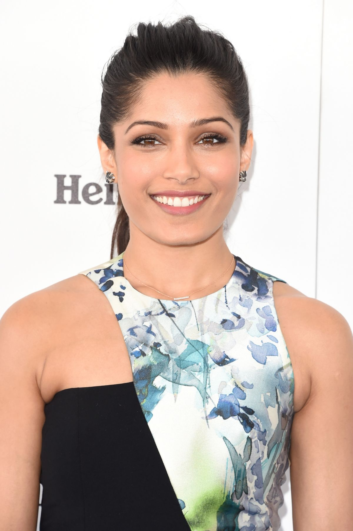 FREIDA PINTO at Film Independent Spirit Awards in Santa Monica 02/27 ...