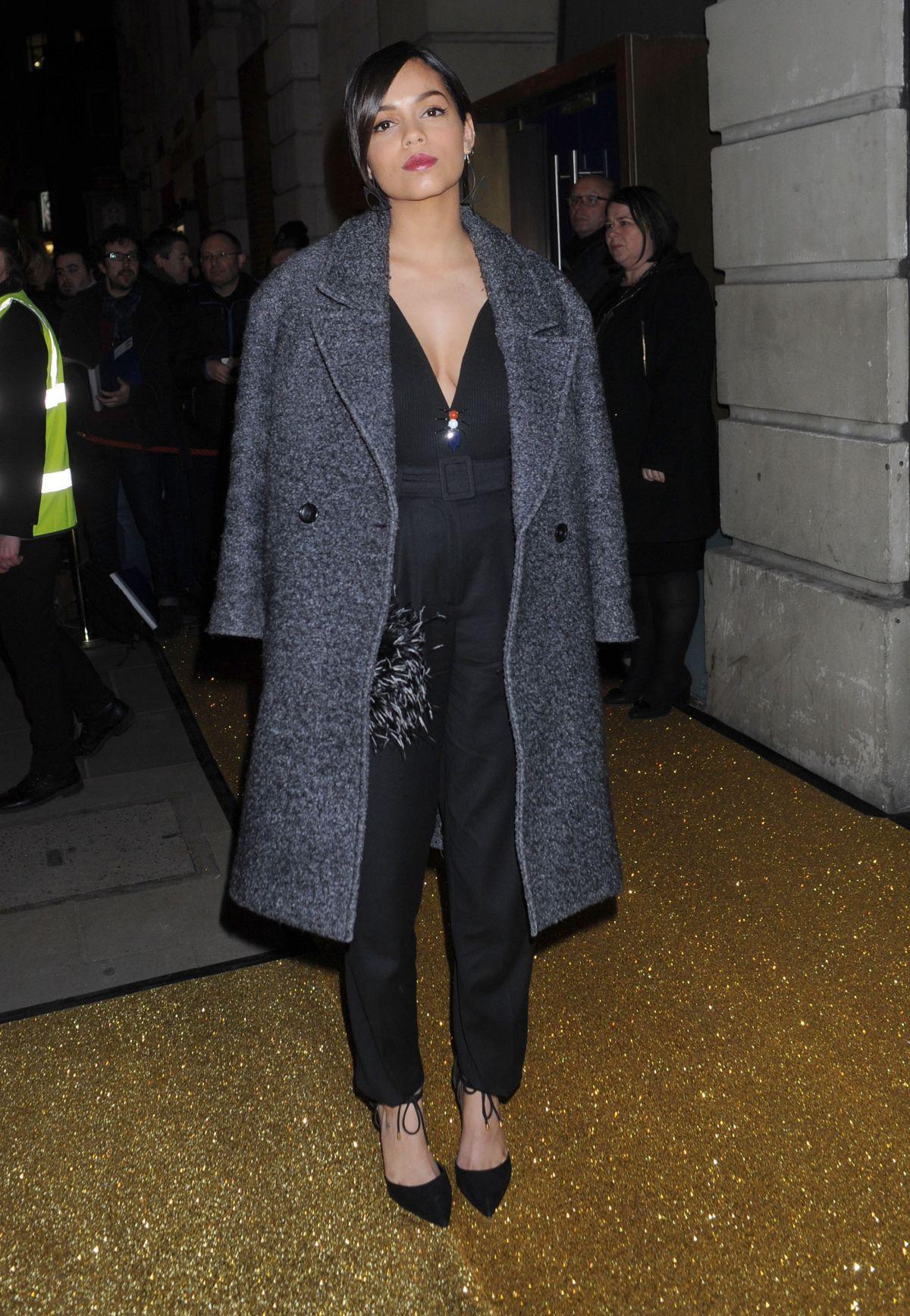 GEORGINA CAMPBELL Arrives at bafta Film Gala Dinner in London 02/11/2016